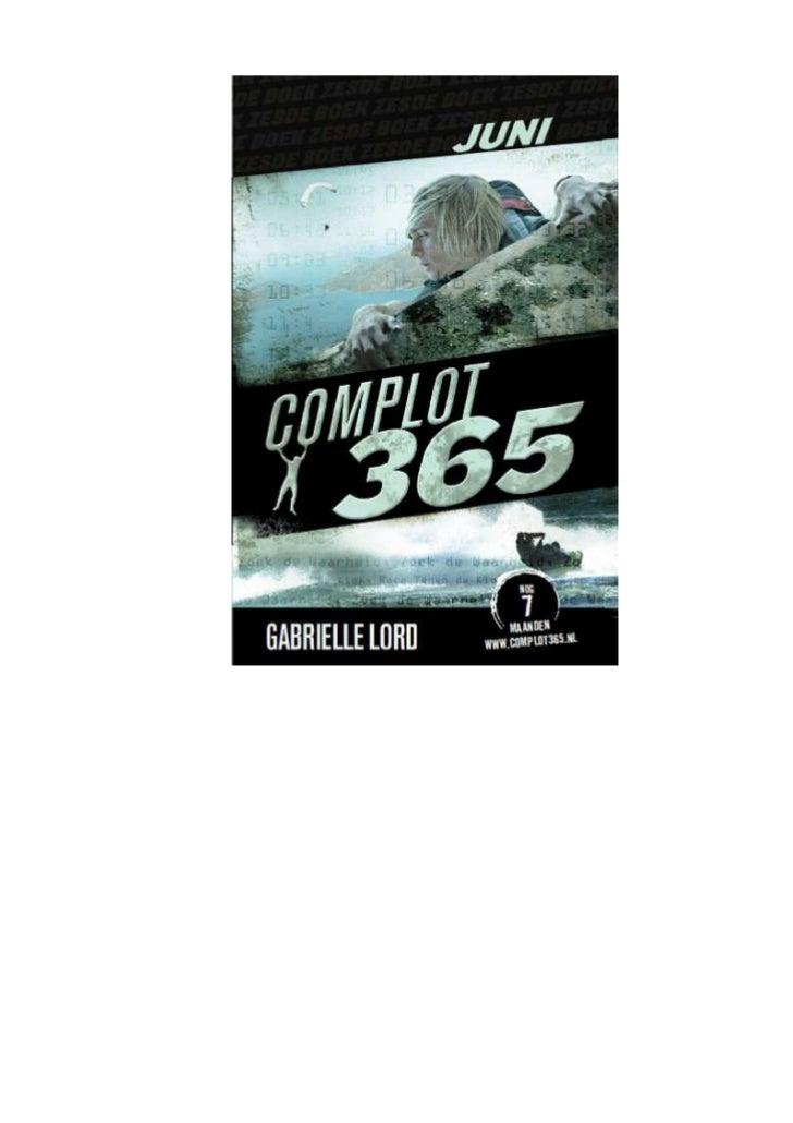 Gabrielle lord   complot 365 - 06 juni