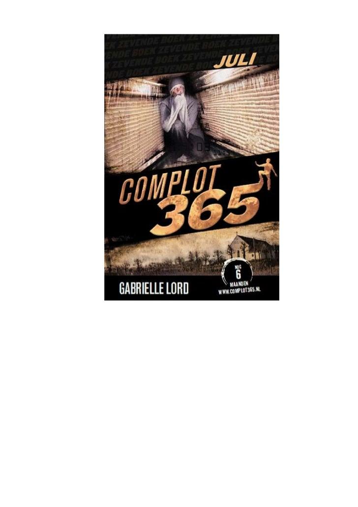Gabrielle lord   complot 365 - 07 juli