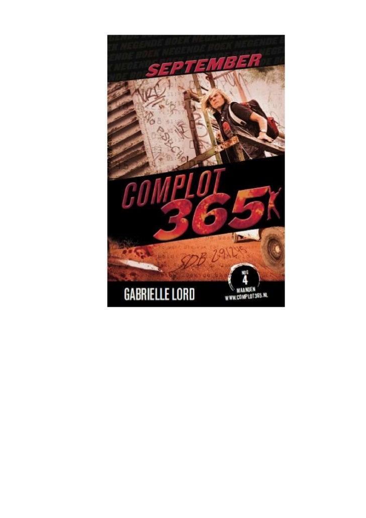 Gabrielle lord   complot 365 - 09 september