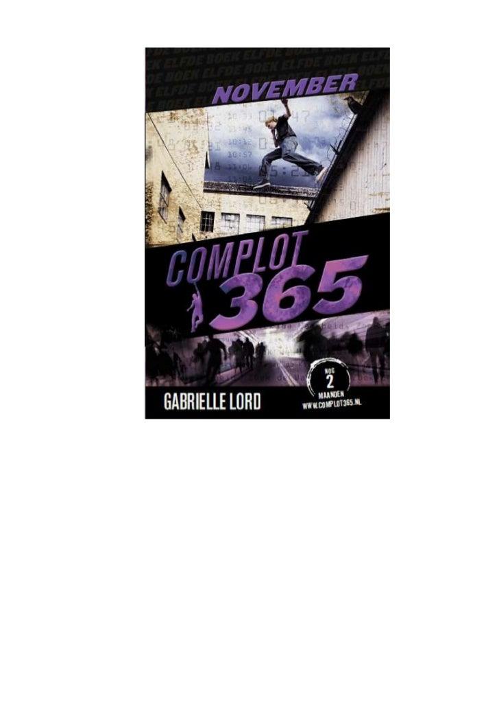 Gabrielle lord   complot 365 - 11 november