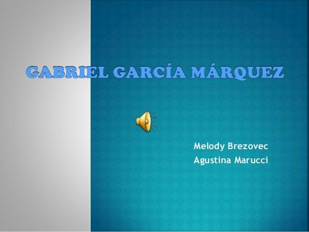 Melody Brezovec Agustina Marucci