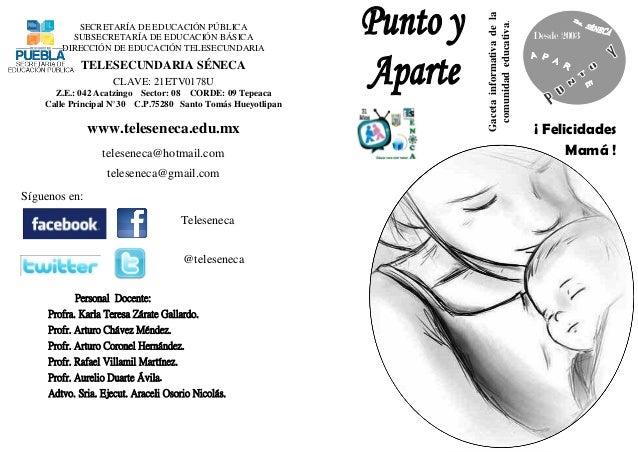 Gaceta Punto y Aparte 10 mayo 2013