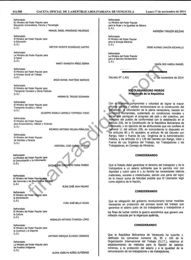 gaceta y decreto 01 de mayo 2016 aumento de salario