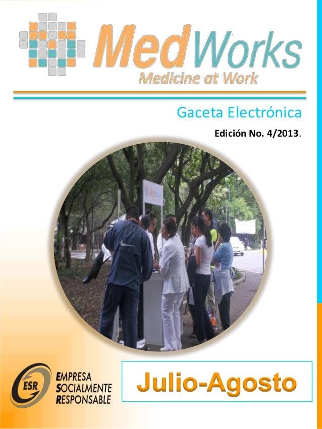 Gaceta Electrónica Edición No. 4/2013.