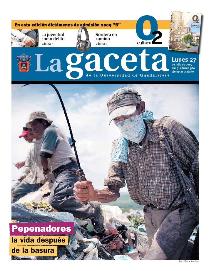 Gaceta Julio 2009