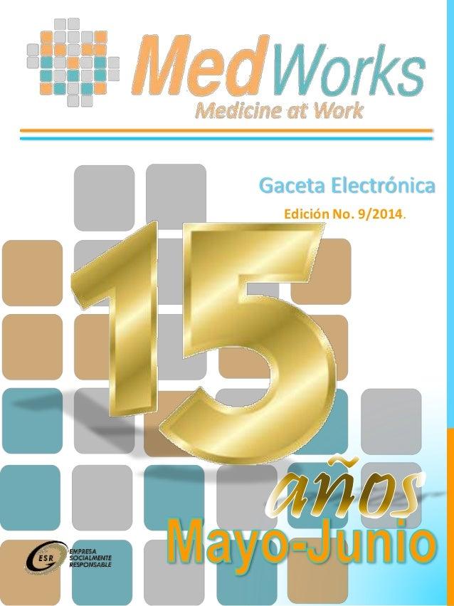 Gaceta Electrónica Edición No. 9/2014.