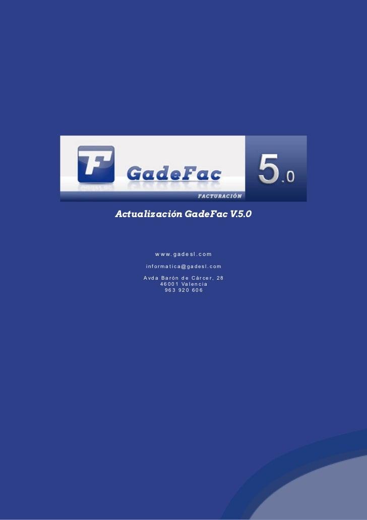 GadeFac v5