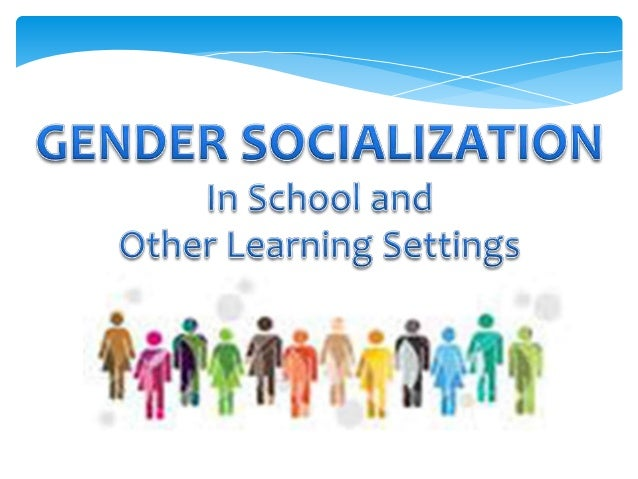 "gender socialization as a female Organizational cultures shape and reinforce socially appropriate roles for men and women drawing on a performativity framework, which assumes that gender is socially constructed through gendered ""performances,"" this study employs interviews with and observations of six women faculty members to examine how dominant discourses define and."