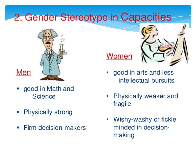 gender stereotypes essays Many people don't know the difference between gender and sex sex is anatomical and biological ge.