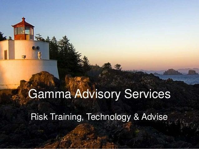 Gamma Advisory Services 2014/03