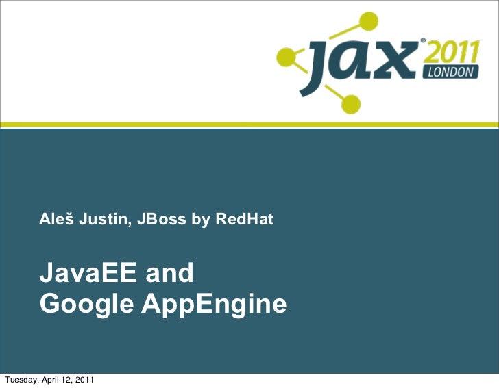 Java EE and Google App Engine