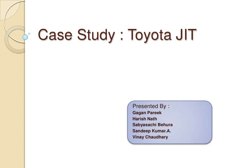 Gagan toyota jit_production_mgmt
