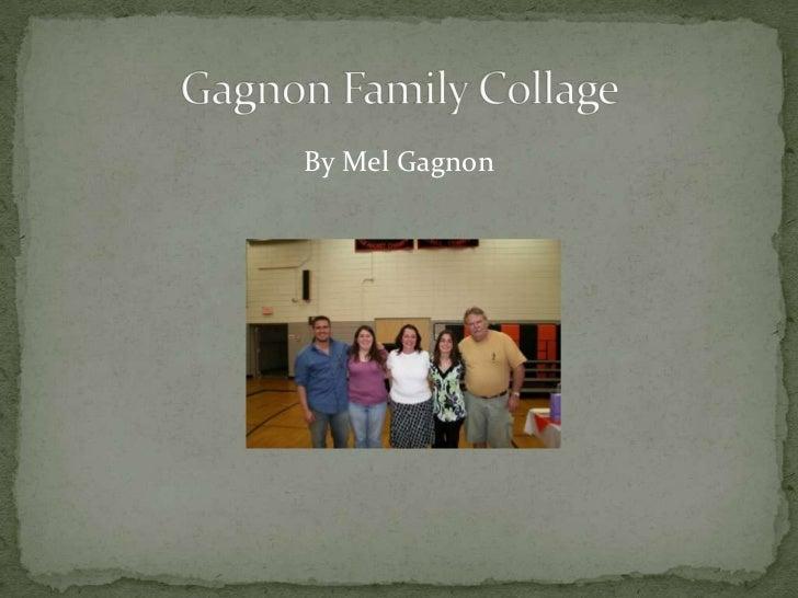 Gagnon family collage