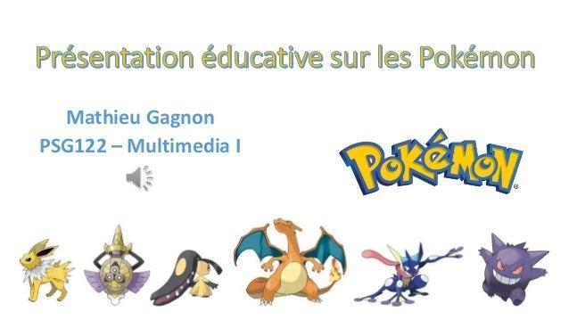 Mathieu Gagnon PSG122 – Multimedia I