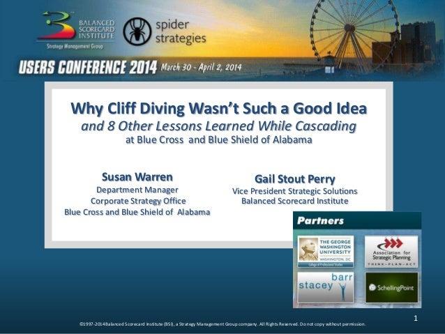 Gail Perry Susan Warren Why Cliff Diving Wasn't Such a Good Idea