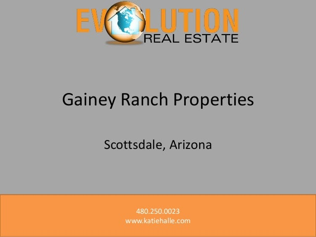 Learn More About Gainey Ranch Properties! Gainey Ranch Homes For Sale