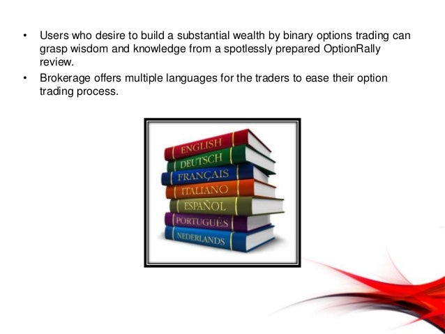 Options trade terms