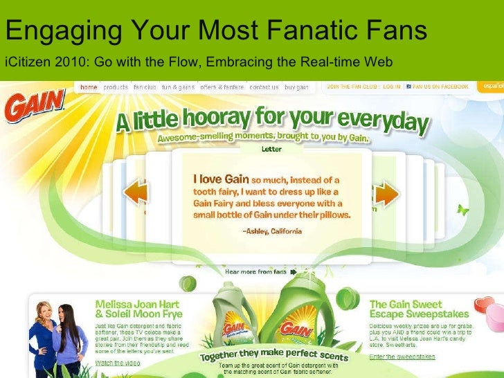 iCitizen 2010: Engaging Your Most Fanatical Fans