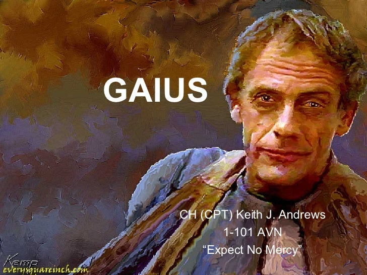 "GAIUS CH (CPT) Keith J. Andrews 1-101 AVN "" Expect No Mercy"""