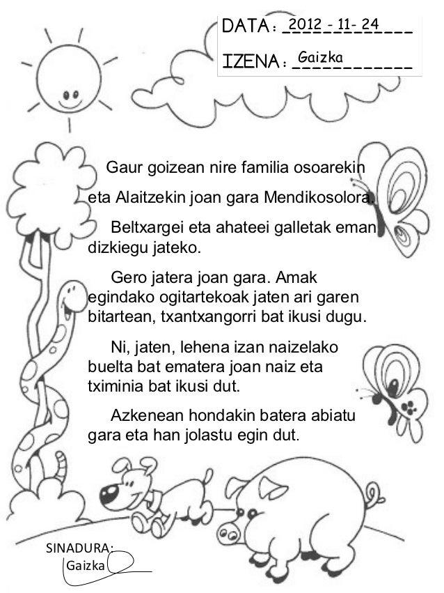 2012 - 11- 24                                   Gaizka       Gaur goizean nire familia osoarekin     eta Alaitzekin joan g...