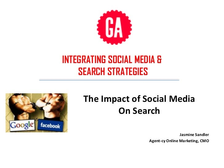 INTEGRATING SOCIAL MEDIA &    SEARCH STRATEGIES     The Impact of Social Media            On Search                       ...