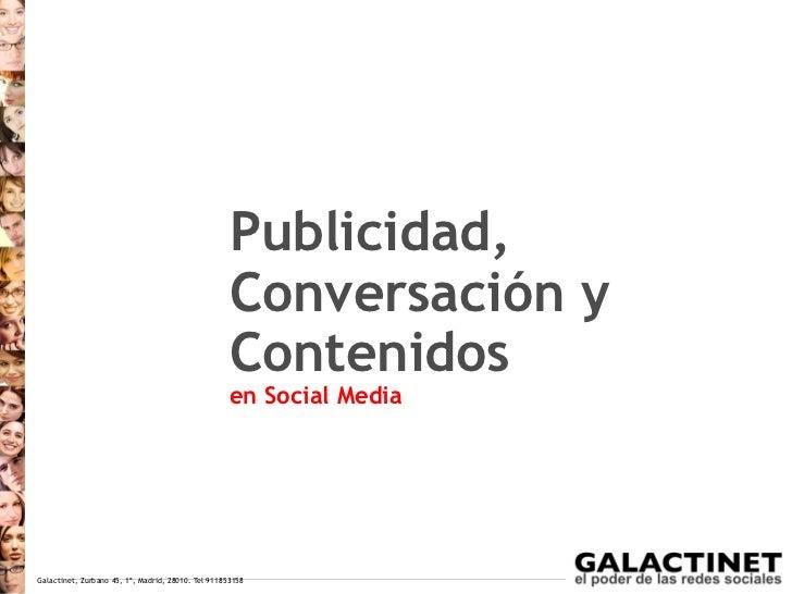 Galactinet Blogs y Medios Sociales 2012