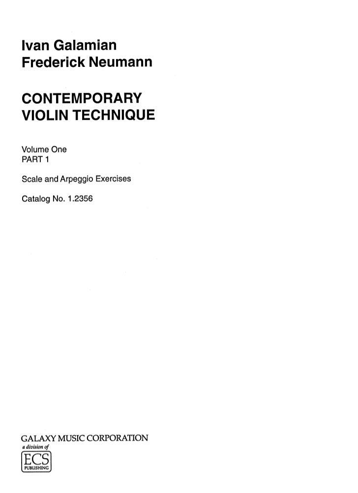 Galamian   contemporary violin technique vols 1 e 2 (www.sheetmusic-violin.blogspot.com)
