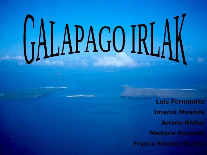 Galapago Irlak