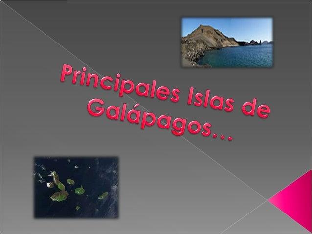 Principales islas de Galapagos