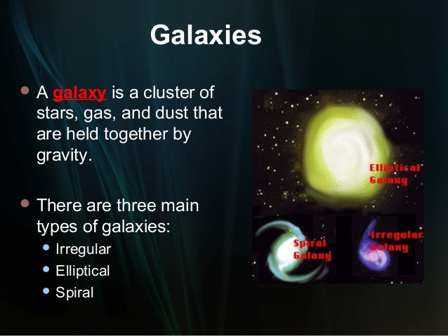 Types of Galaxies PowerPoint (page 4) - Pics about space