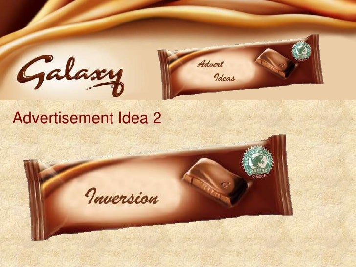Chocolate Advertising Campaign Ideas?
