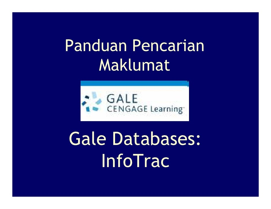 Gale Databases [MALAY]