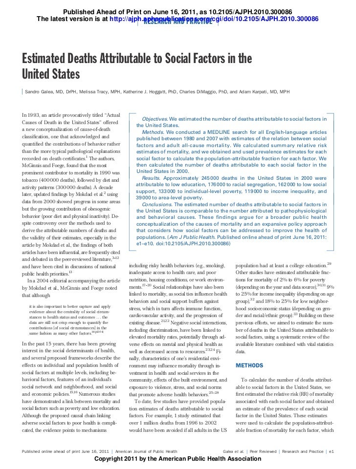 Published Ahead of Print on June 16, 2011, as 10.2105/AJPH.2010.300086       The latest version is at http://ajph.aphapubl...