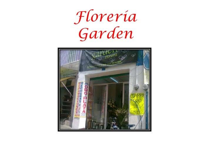 Florería Garden<br />