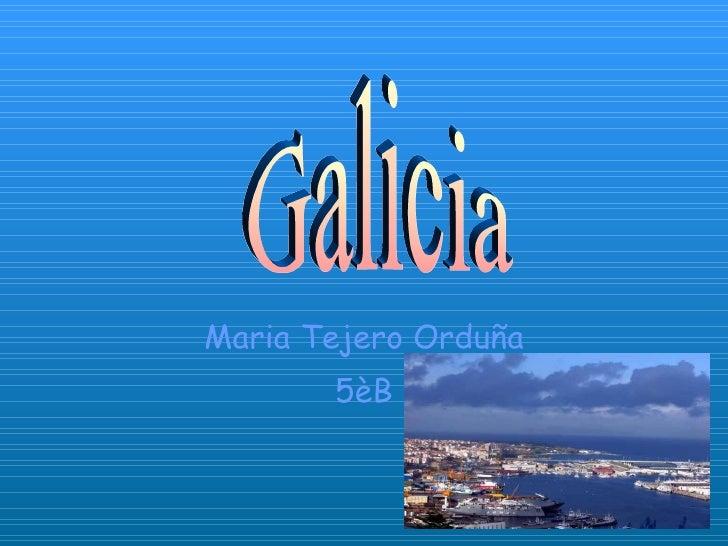 Galicia mariatejero