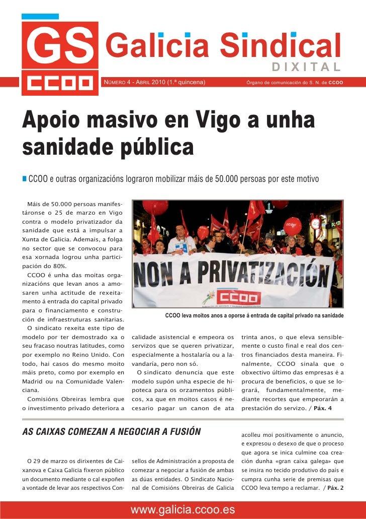 Galicia Sindical, 4