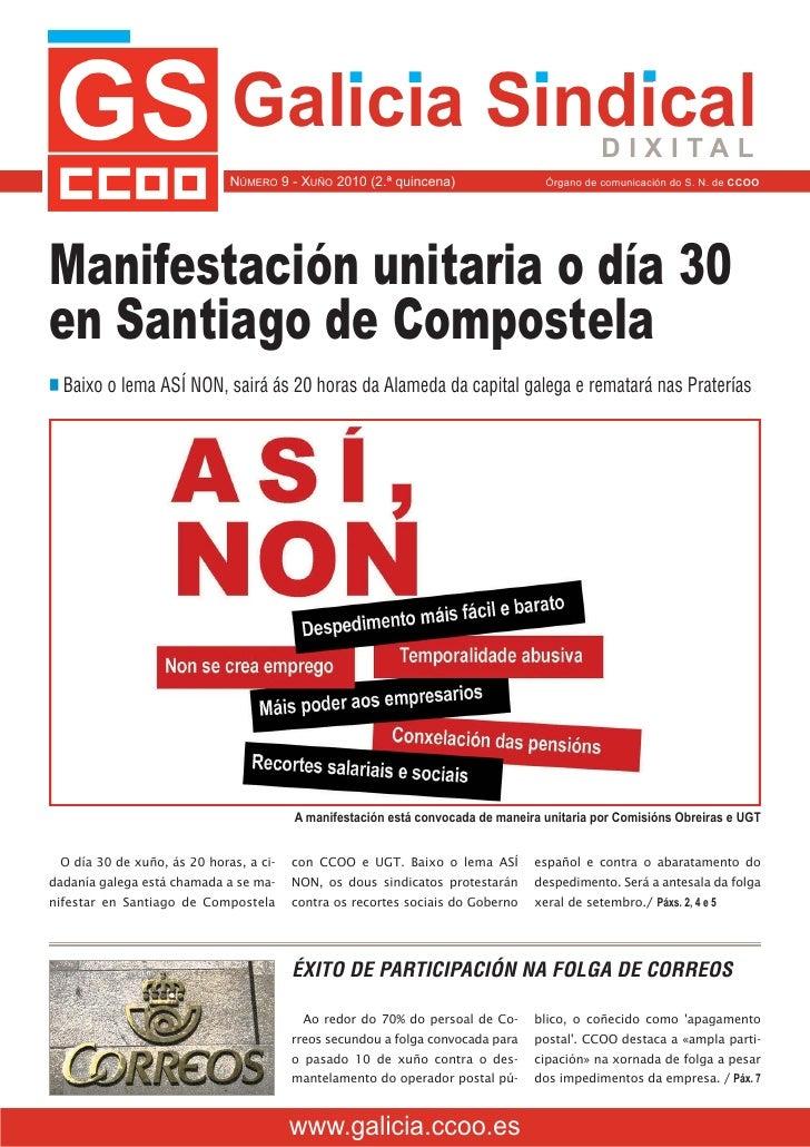 Galicia sindical junio 2010