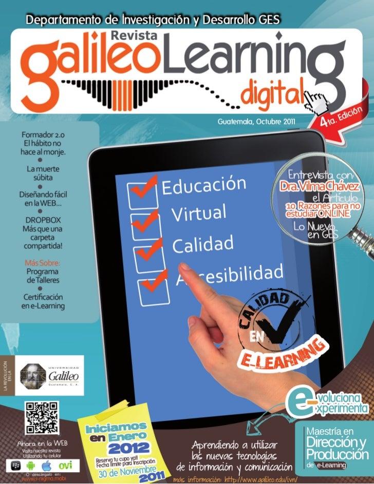 Galileo learning digital no4