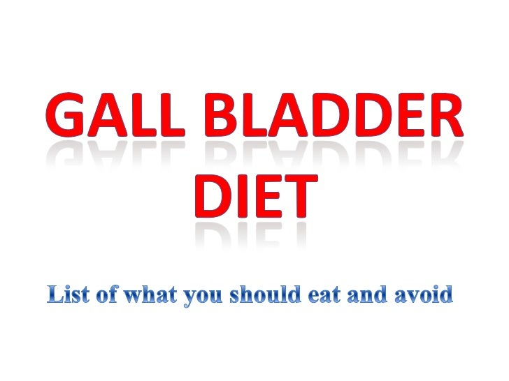 Foods You Should Not Eat After Gallbladder Removal