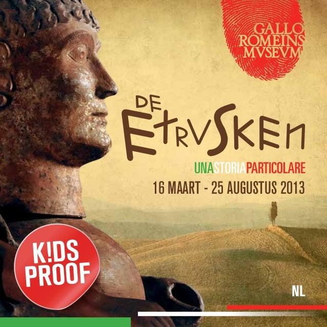 Gallo Romeins Museum - De Etrusken 2013  - folder