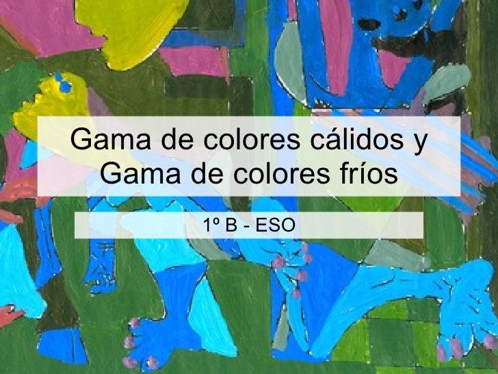Gama de colores c lidos y gama de colores - Gama de colores calidos ...
