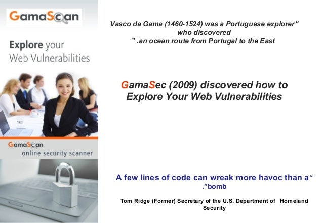 Gama sec presentation for hosting june12