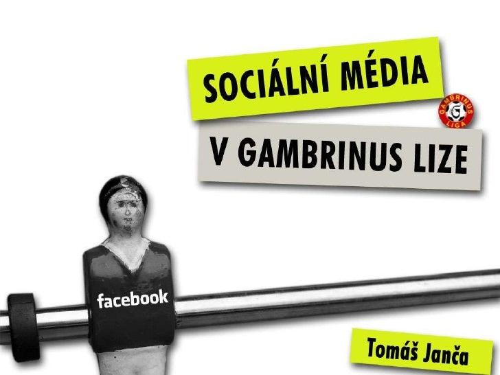 Sociální média v Gambrinus lize