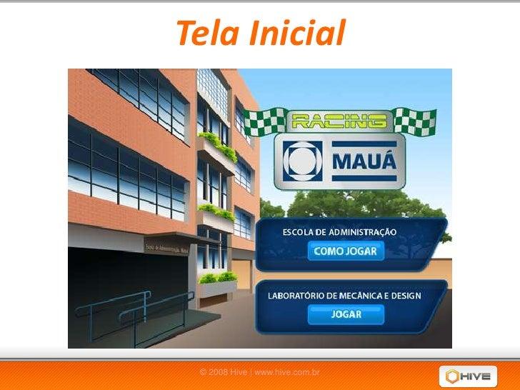 Jogo Mauá Racing - Apresentação
