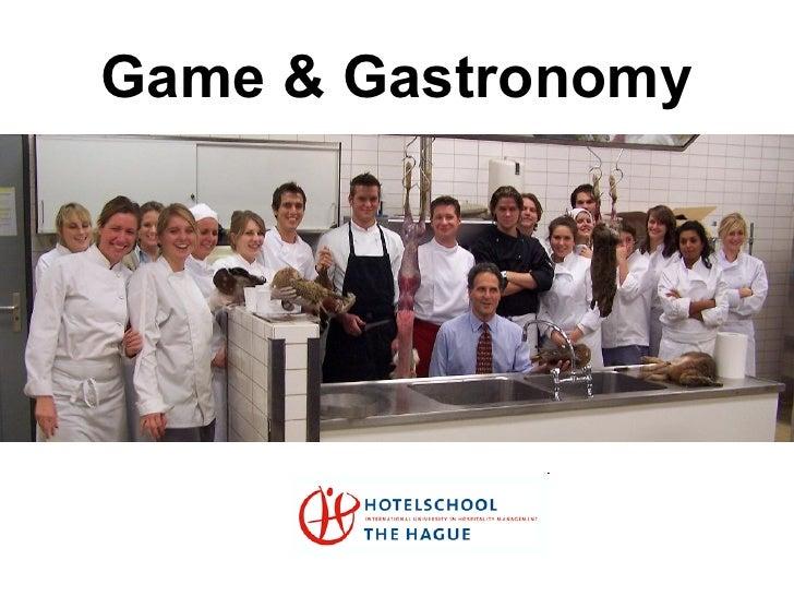 Game & Gastronomy