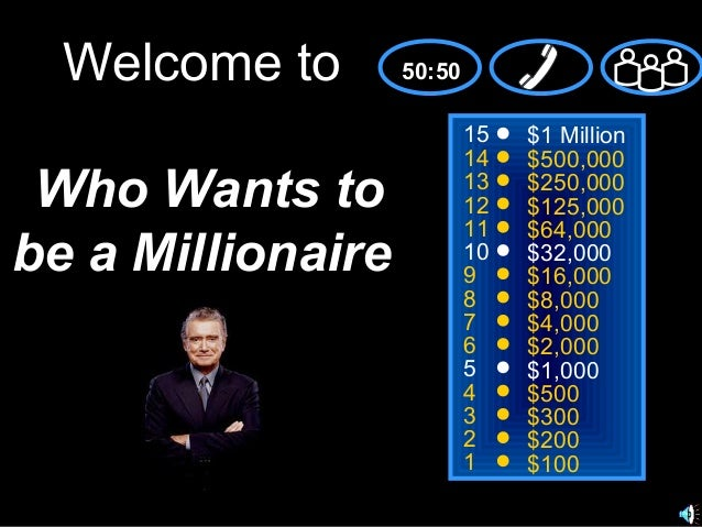 games who wants to be a millionaire