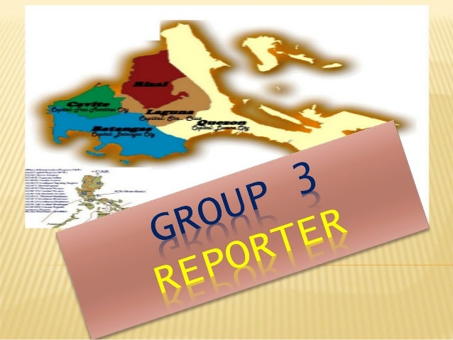 TOURIST GUIDE REGION 4-A & B