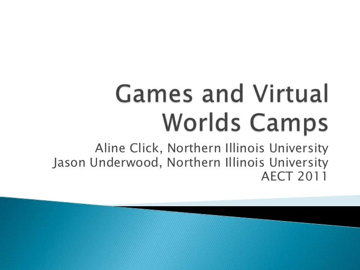 Games and Virtual World Camps