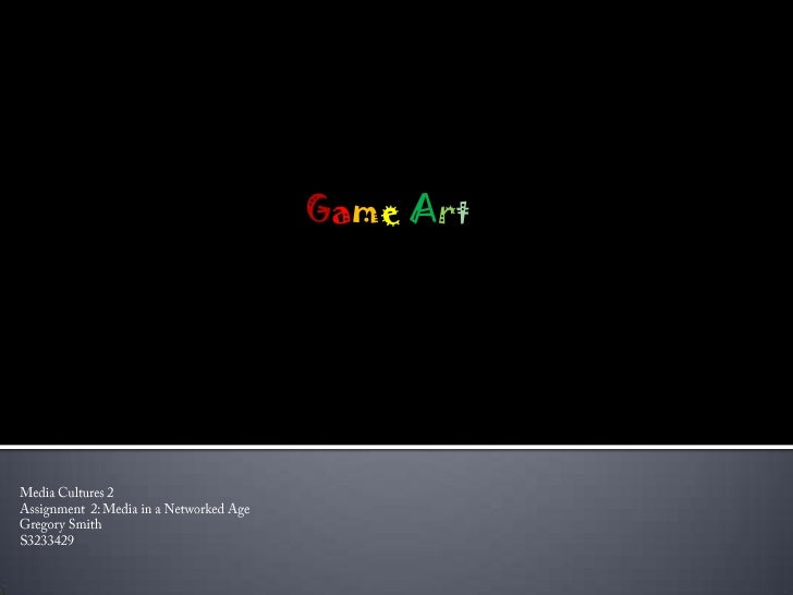 Game Art Gregory Smith S3233429
