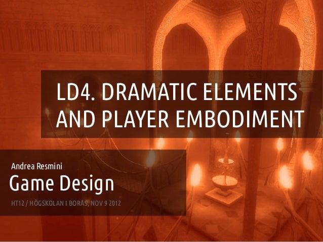 Game Design - Lecture 4